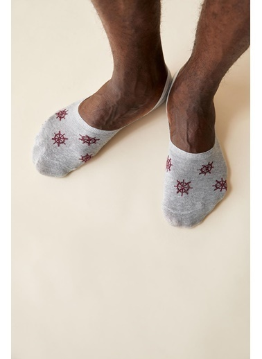 DeFacto 3'lü Çorap Gri
